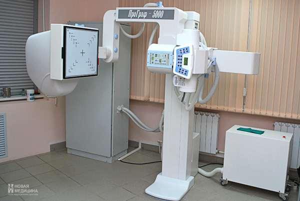 рентгенография у врача в больнице