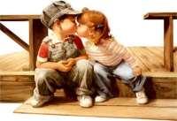 первый поцелуй с девушкой
