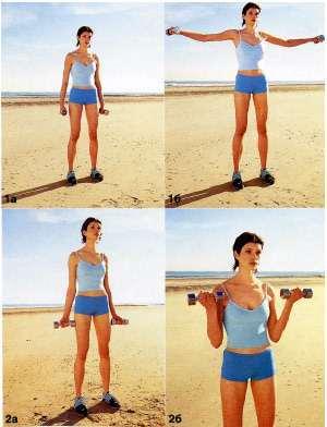 Как похудеть в плечах упражнения с