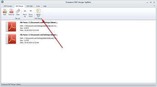 Freemore PDF Merger Splitter