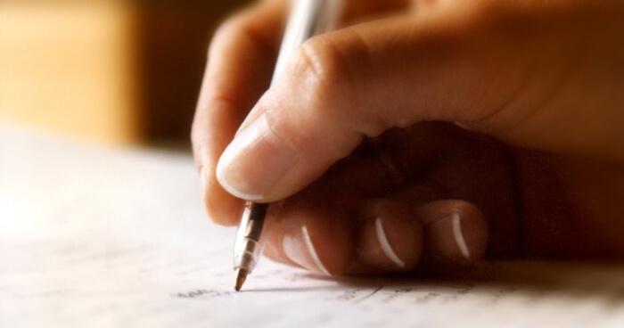 образец письма о расставании