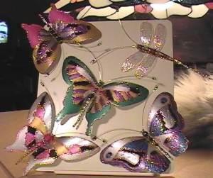 Поделки в виде Бабочек