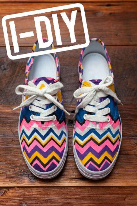 Узоры на обуви