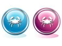 Голубой и розовый