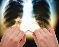 После курения с детства