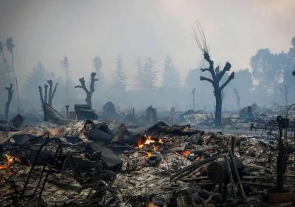 К чему снится пепел после пожара